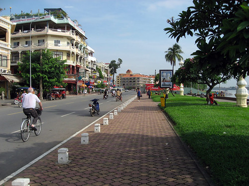 Waterfront, Phnom Penh