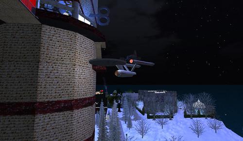 Strange Matzo tower in the SL realm