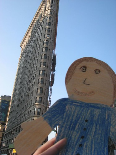 Flat Stanley at the Flat Iron Building