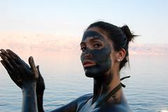 Muddy face - Dead Sea mud by Babi_Santander, on Flickr