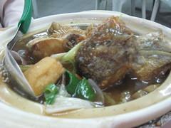 Claypot Fish-King fire seafood(Relau)