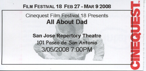 All About Dad ticket