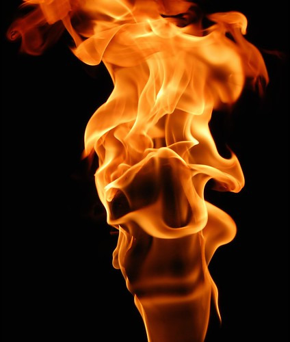 Face In The Flame