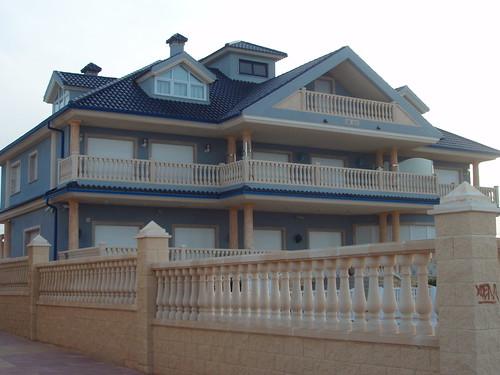 La otra casa azul