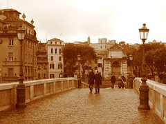 Roma, Ponte Sisto by Acciaio