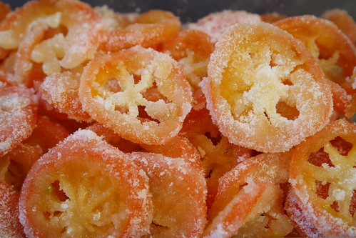 Candied mandarinquats