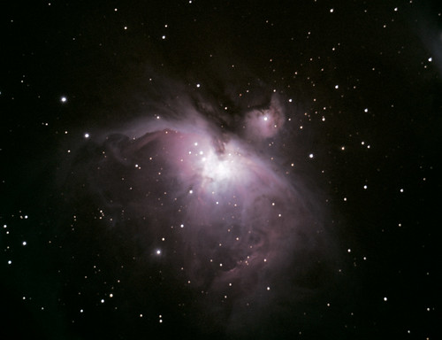 M42-Great Orion Nebula (reprocessed) on 2/23/08