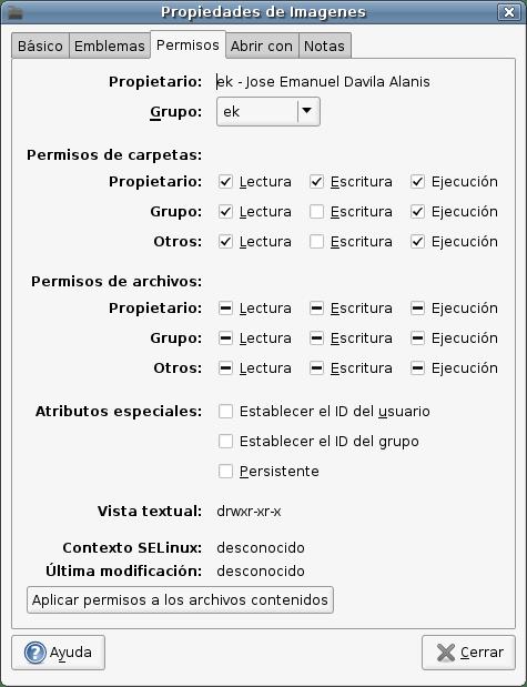 Pantallazo-Propiedades de Imagenes