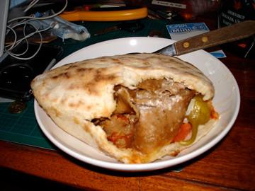 kebab med bröd
