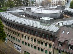 Toit de l'Hôtel de police de Lausanne
