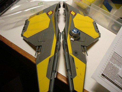 Star Wars Jedi starfighter Eta-2 Atis interceptor