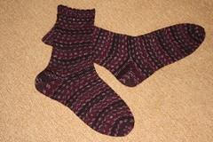 Kate's Birthday Socks