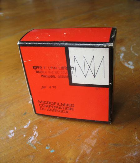 Microfilm Box