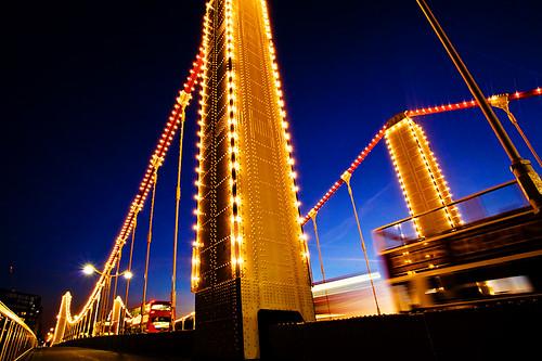 The Pillars of Chelsea Bridge