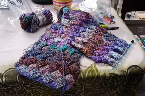 Lonely Noro scarf.