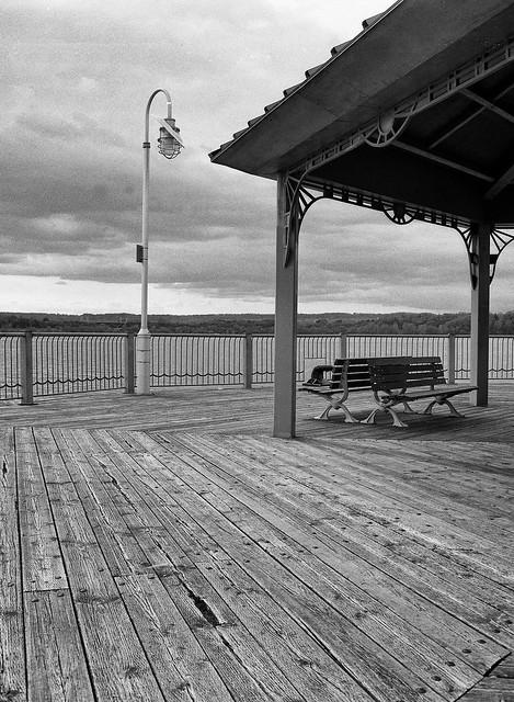 Gazebo and Deck, Hamilton Harbour