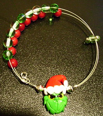 Grinch Row Counter Bracelet