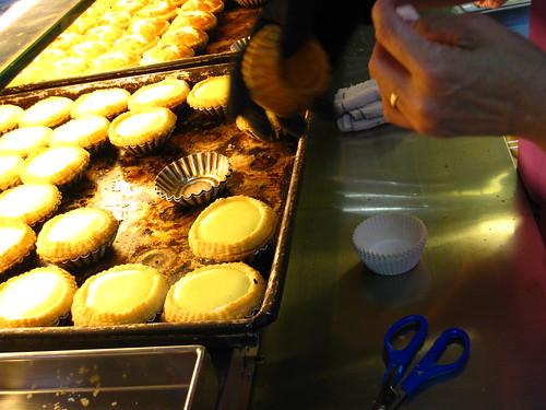 新鮮出爐! fresh egg tarts