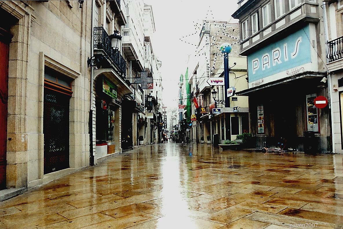 Calle Real / A Coruña