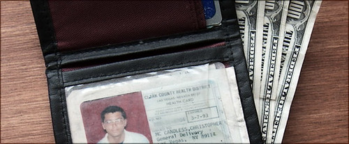 Supposedly found near the bus this is Chris Mccandless wallet.
