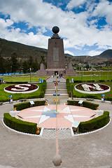 Mitad del Mundo: hier soll der Äquator durchgehen
