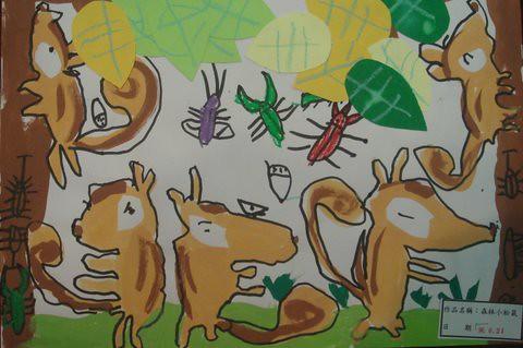 森林小松鼠1