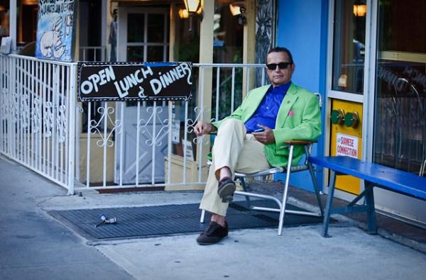 132/365 - Distinguished Gentleman, Houston Street.