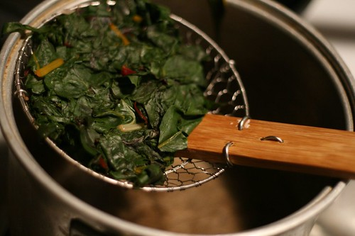 Cooked down Swiss Chard
