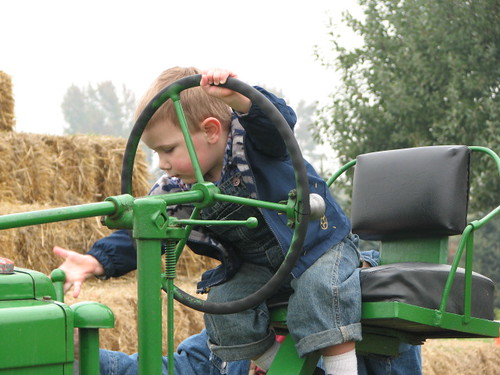 Jacob and Tractor