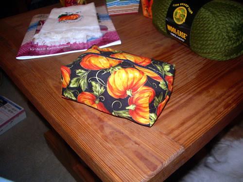 Boxy Pumpkin Pouch