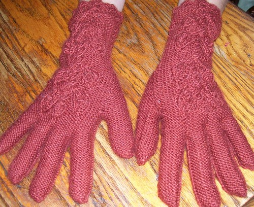 fitted alpaca gloves