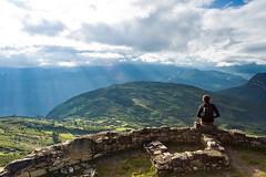 Kuelap: auf der Festung hat man eine unglaubliche Aussicht.