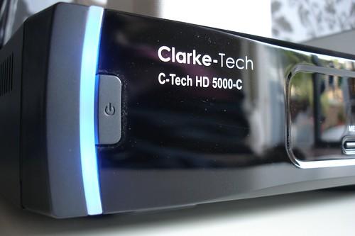 Clarke-Tech 5000HD-C with 500GB external drive