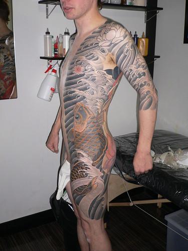 japonais. kyoto. tatouage. tattoo