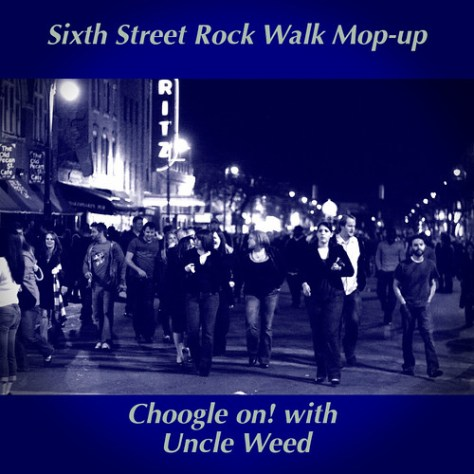 Sixth Street Rock Walk Mop-up