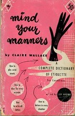 Mind Your Manners by Claire Wallace (1953)