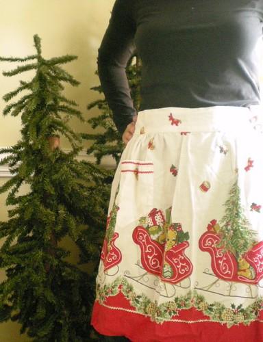 sleigh apron