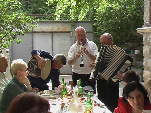 A little dinner music - Rustavi, Georgia