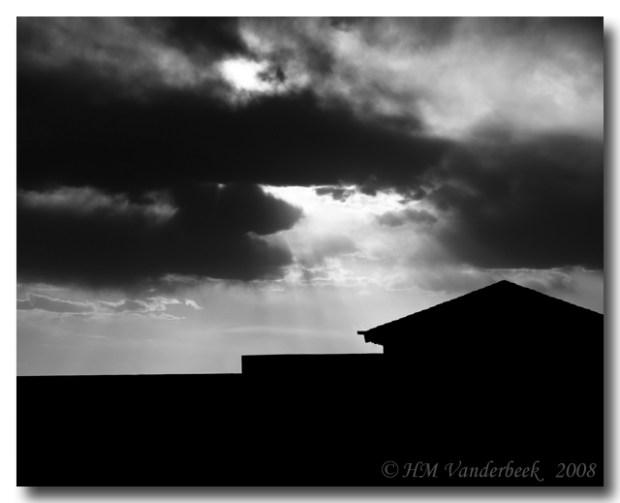 B&W Ominous Skies