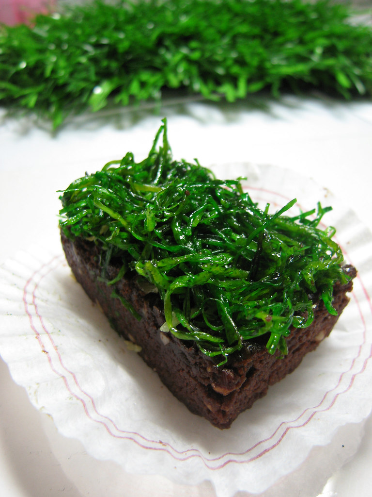 Grass brownie