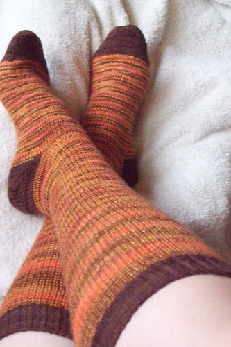 autumn knee-high socks