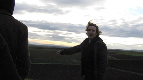 On top of the The Leeberg Tumulus