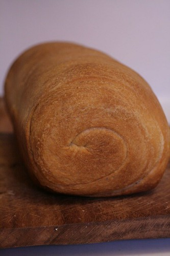 Loaf of Pesto Whirl Bread