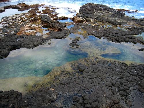 lava pools