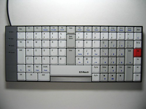 TypeMatrix EZ-Reach 2030 - Qwerty