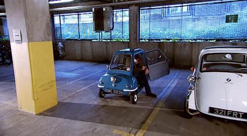 smallest car ever built, clarkson, jeremy, topgear, tall, small, car, peel p50