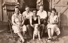old family portraits from the 1930's by AK Foto