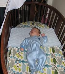 Jack in the big boy crib