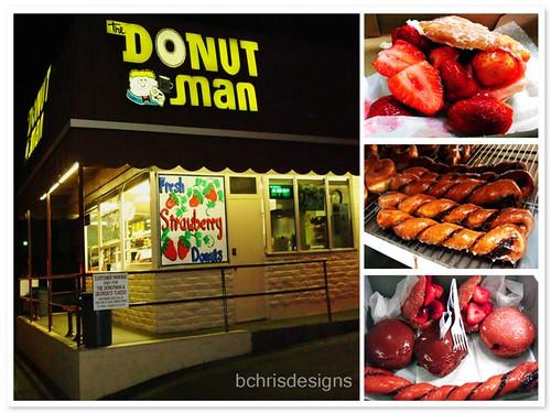 The Donut Man (mosaic)
