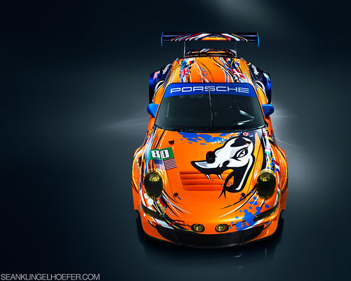 Flying Lizard 2011 Porsche GT3 RSR